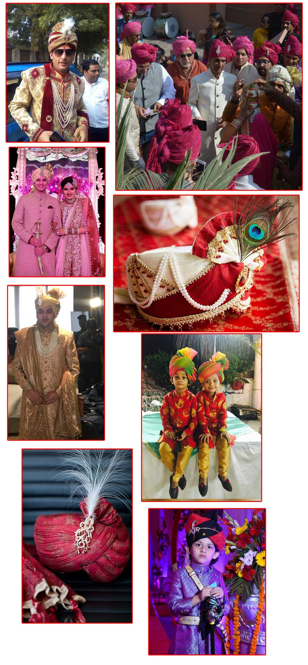 wedding safa in delhi